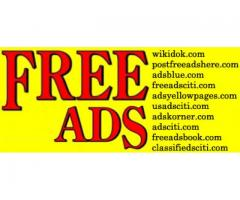 Post an ad for free -Best online classifieds