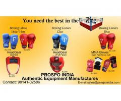 MANUFACTURER AND SUPPLIER OF SPORTS GOODS