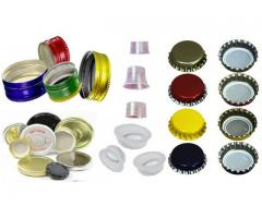 pp caps suppliers, induction sealing caps manufacturers.