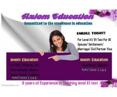 level A1 and B1 test in jagraon and ludhiana