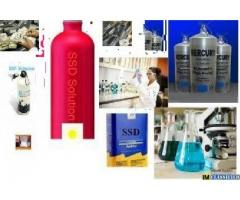 Zenith ssd chemical solution and activating powder for cleaning deface currency notes