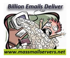 Send unlimited bulk emails using your own SMTP mail server