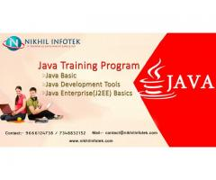 Best opportunity for freshers to become Java Professionals.