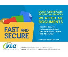 PEC Attestation And Apostille Services India Pvt Ltd.