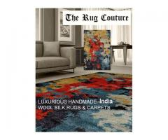 The Rug Couture - Bespoke designer rugs and carpets in Delhi NCR, Gurgaon, Noida, India.