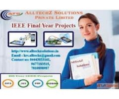 No.1 Final Year Projects for BE in Velachery
