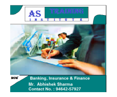 AS Training Institute ( Banking, Insurance & Finance ).