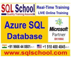 Real Time and Practical Project Oriented Online Training On AZURE SQL