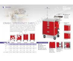 We ensure handpicked Emergency carts to the clients